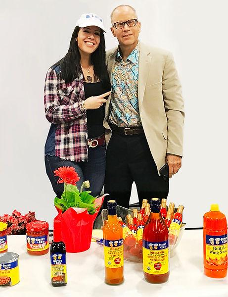 Steve and Amy Shtafaman Hot Sauces.jpg