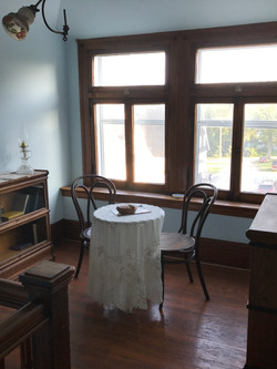 Servants' Sitting and Sewing area