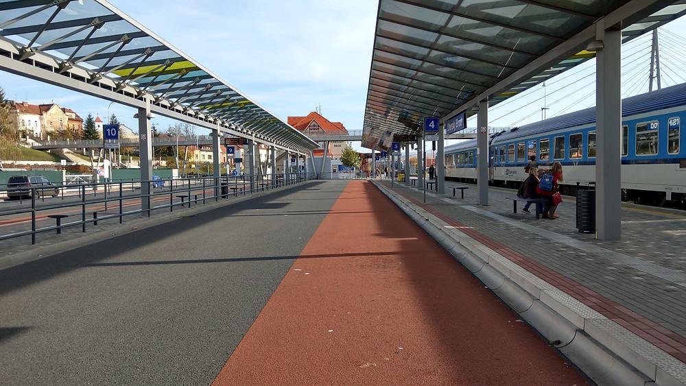 Dopravní terminál v Uherském Brodě (04. 11. 2018)