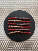 Chocolate covered licorice
