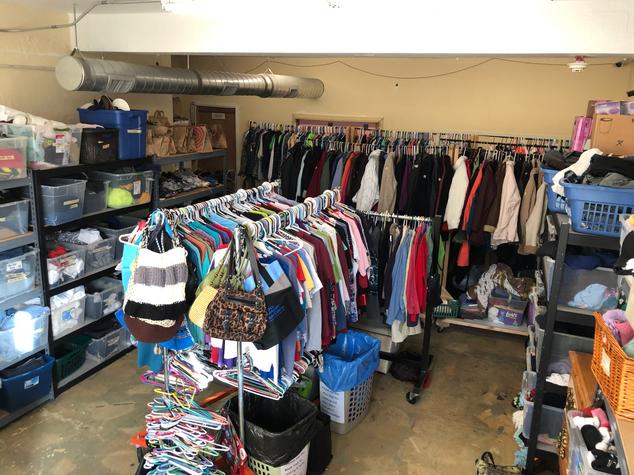 Our Clothing Closet