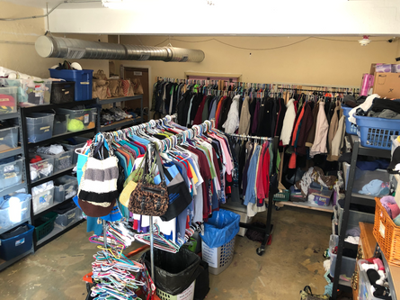 Volunteer In Our Clothing Closet