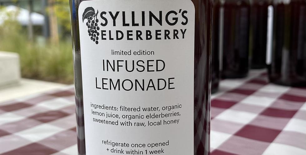 Elderberry Infused Lemonade 16oz