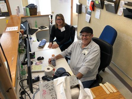 Volunteer At Our Front Desk