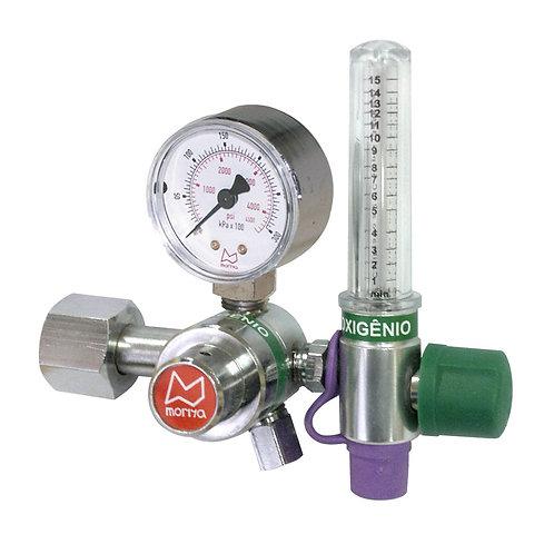 Regulador Econômico com Fluxômetro 0-15L/Min Oxigênio