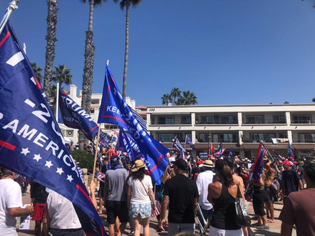 Saturday Rally in San Clemente