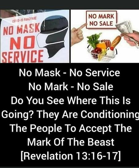 No Mask No Food