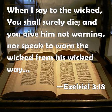 The Gospel Warning in Ezekiel