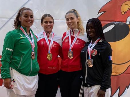 Karate - Silber- und Bronzemedaillen für Nur Kars und Mia Kadoic