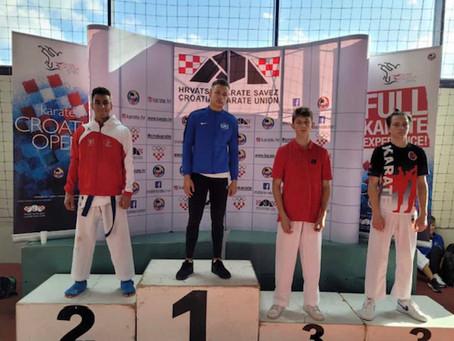 Karate - 2. Platz für Steven Torres am Croatia Open