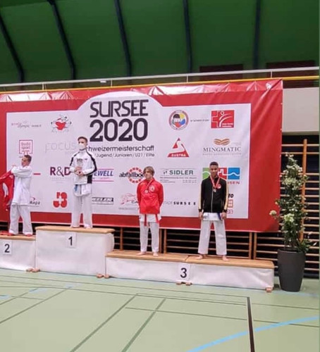 Karate - 3. Rang für Steven Torres