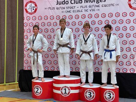 Judo - Markus Schlatter holt den 3. Rang am Nationalen Ranking Turnier 1000 in Morges/VD