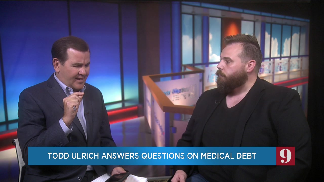 Jared joins WFTV Action 9 to answer questions about medical debt