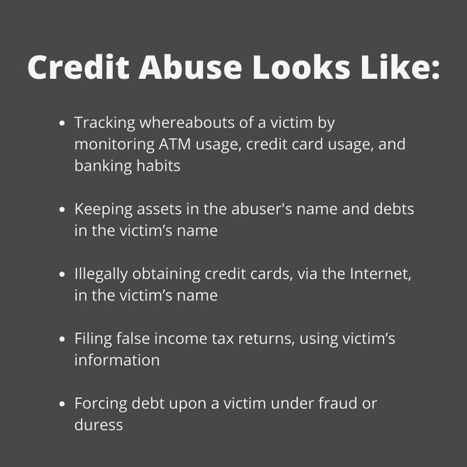 Survivors: Get Help for Credit Abuse