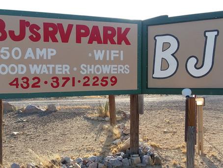 BJs RV Park, Terlingua, TX