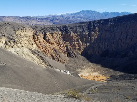 Ubehebe Crater Trail, Death Valley