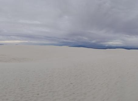 Alkali Flat Trail, White Sands National Park, NM