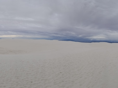 Alkali Flat Trail, White Sands National Park, NM