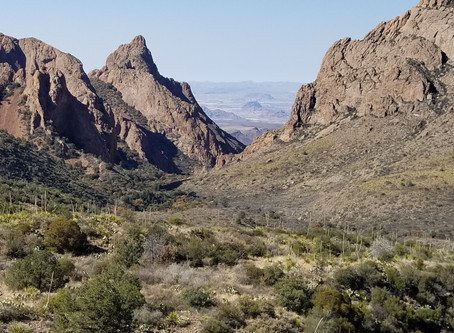 The Window Trail, Big Bend National Park, TX