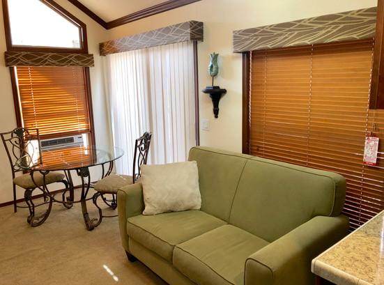 Cabin 3 Living Room