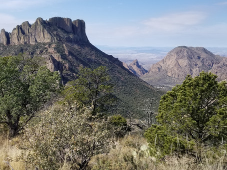 Lost Mine Trail, Big Bend National Park, TX