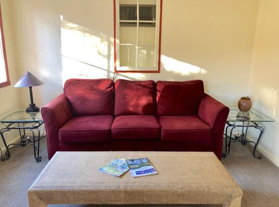 Cabin 6 Living Room