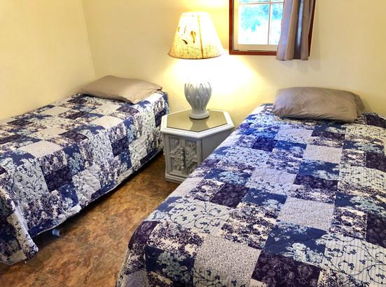 Cabin 6 Bedroom 2.