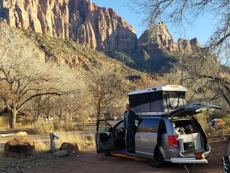 Watchman Campground, Zion National Park