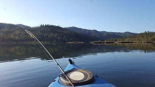 Kayak Fishing Lewiston Lake