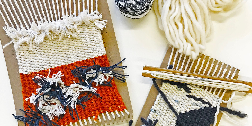 Frame weave a wall hanging