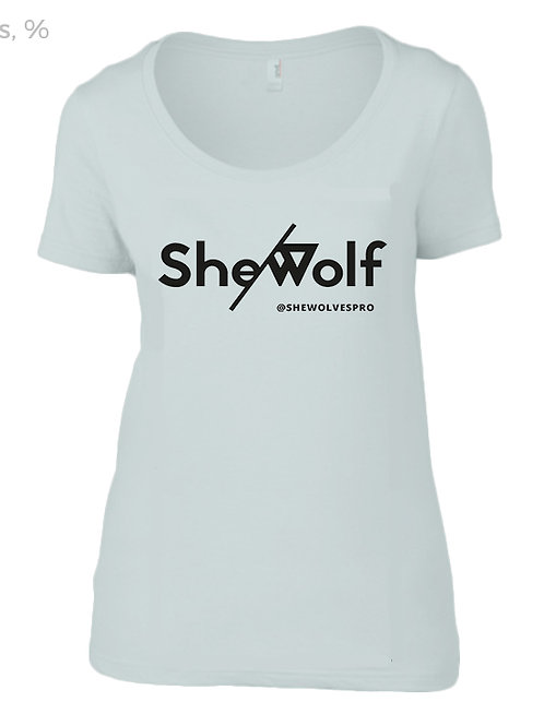 She/Wolf Women's T-Shirt - Silver