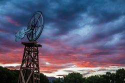 Sunset at Rock Ledge Ranch
