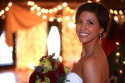 Beautiful bride at The Loft