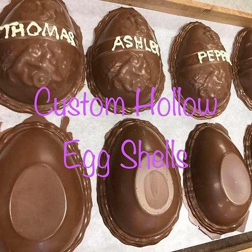 Hollow Egg Shell Customizable