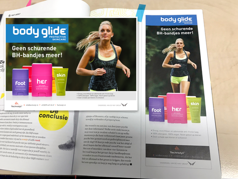 Bodyglide - Advertentie