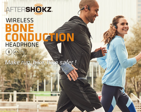 Aftershokz - Banner