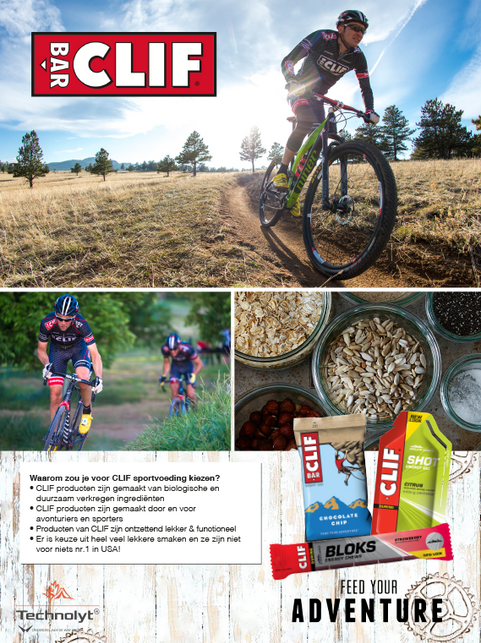 CLIF - Advertentie