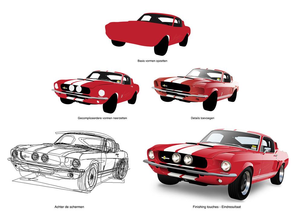 Mustang - Illustrator