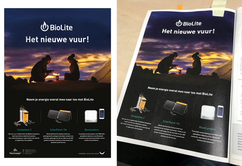 Biolite - Advertentie