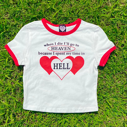 Hell! BABY Ringer Tee
