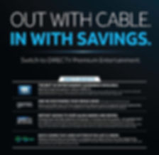 Switch to Direct TV premium entertainment provided by local retailer, Done Right Satellite, TV and Satellite in Davenport, Iowa.