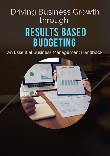 Results Based Budgeting Book Image trans