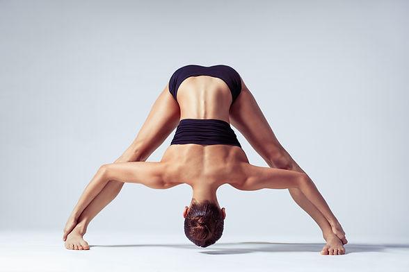 Leg Yoga Stretching Pose