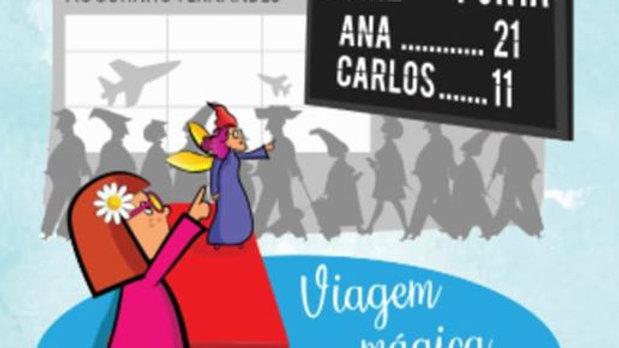 """""""Viagem Mágica A Nenhures"""" de Isabel Fernandes"""