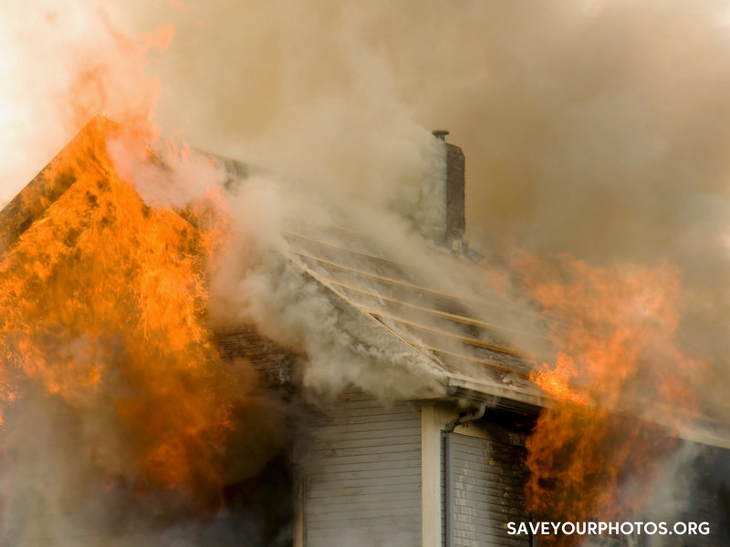 The House Fire: Realizing the cause of family photos | SaveYourPhotos.org