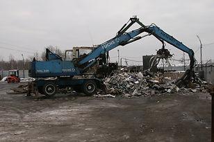 металлобаза, производственная площадка, пункт приема металлолома