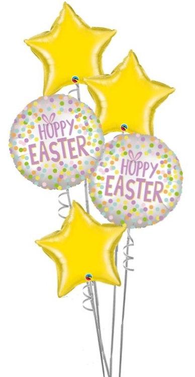 All Foil Easter Balloon Bouquet