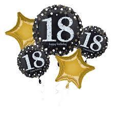 Milestone Birthday all foil Balloon Bouquet