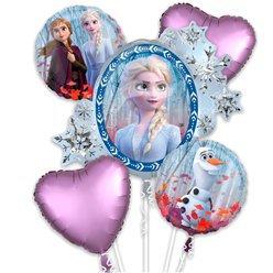 Disney Frozen all foil Balloon Bouquet