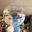Thumbnail: Welcome to the World/New Baby Personalised Bubble Balloon with Balloon Collar